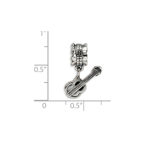 Sterling Silver Reflections Guitar Bead