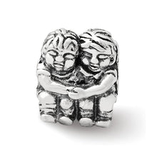Load image into Gallery viewer, Sterling Silver Reflections Two Kids Bead
