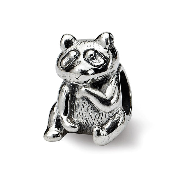 Sterling Silver Reflections Racoon Bead