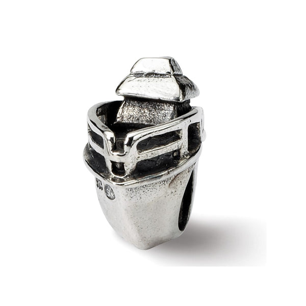 Sterling Silver Reflections Boat Bead
