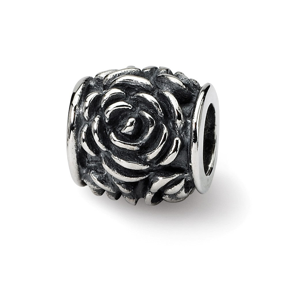 Sterling Silver Reflections Rose Bali Bead