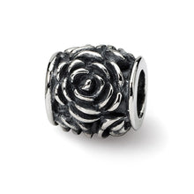 Load image into Gallery viewer, Sterling Silver Reflections Rose Bali Bead