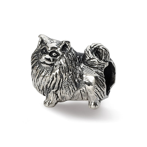 Sterling Silver Reflections Pomeranian Bead