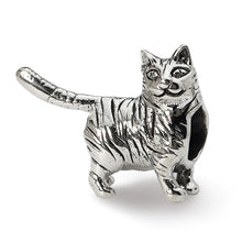 Load image into Gallery viewer, Sterling Silver Reflections American Shorthair Cat Bead