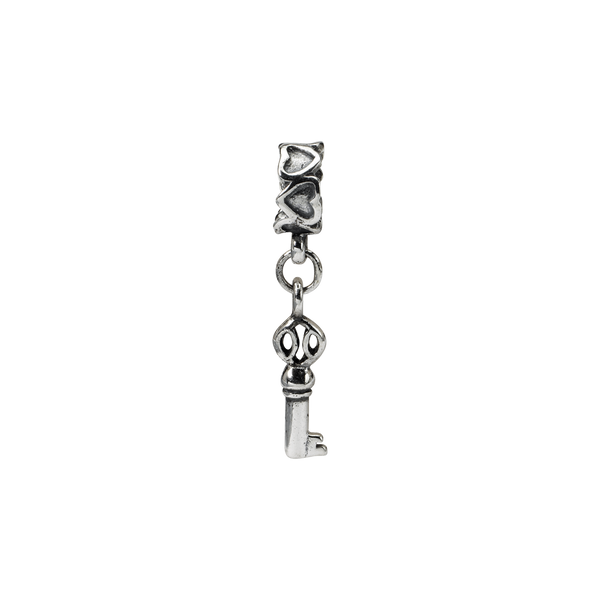 Sterling Silver Reflections Key Dangle Bead