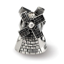 Load image into Gallery viewer, Sterling Silver Reflections Windmill Bead