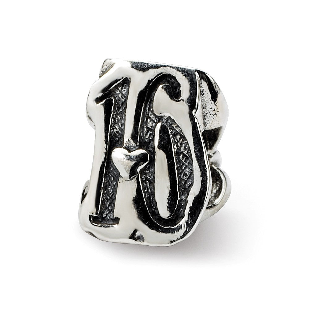 Sterling silver Reflections Sweet 16 Bead