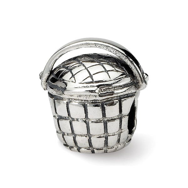 Sterling Silver Reflections Basket Bead