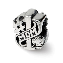 Load image into Gallery viewer, Sterling Silver Reflections #1 Mom Bead