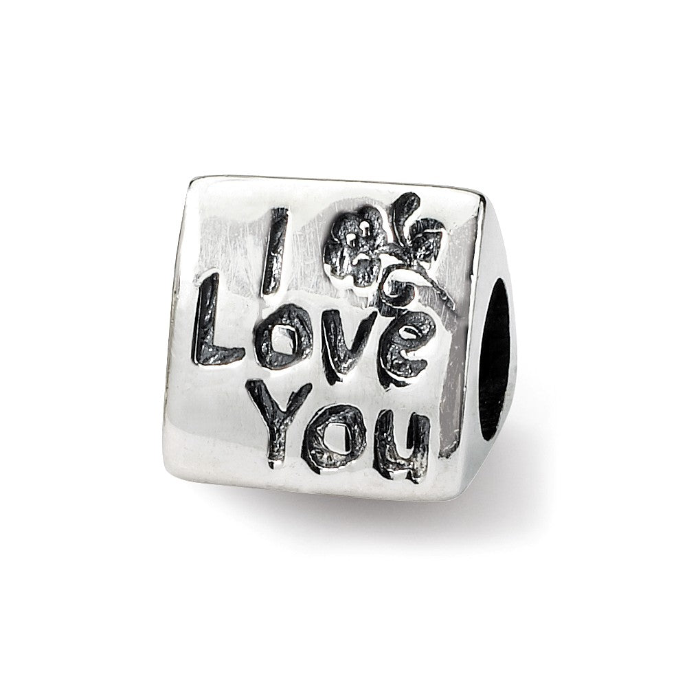 Sterling Silver Reflections Mom Trilogy Bead