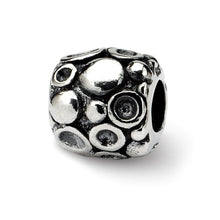 Load image into Gallery viewer, Sterling Silver Reflections Dots Bali Bead