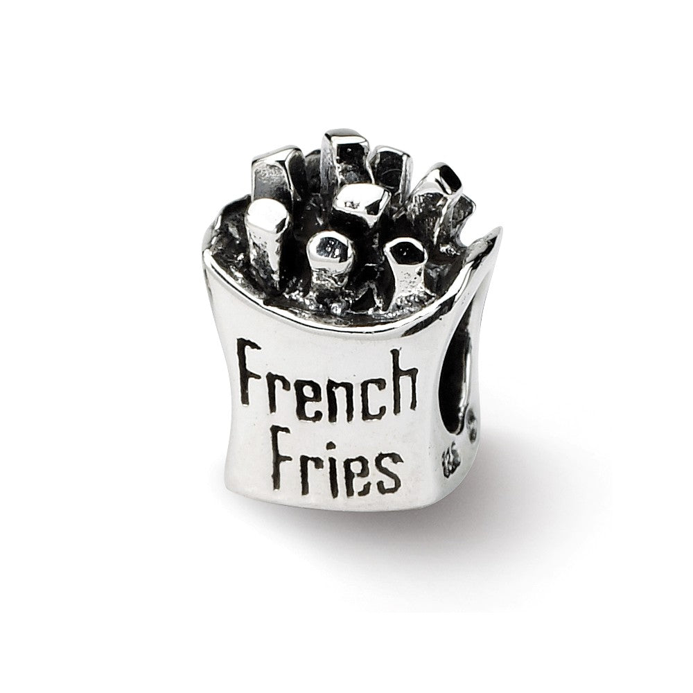 Sterling Silver Reflections French Fries Bead
