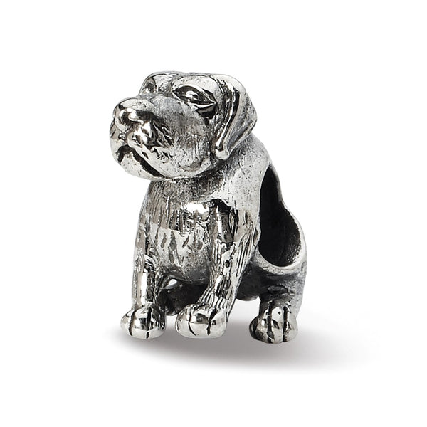 Sterling Silver Reflections German Shorthaired Pointer Bead