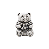Sterling Silver Reflections Teddy Bear Bead