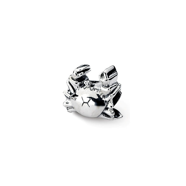 Sterling Silver Reflections Crab Bead