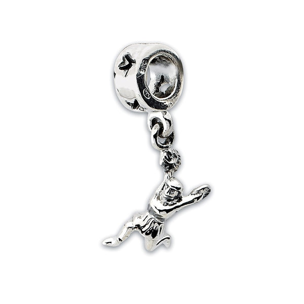 Sterling Silver Reflections Cheerleader Dangle Bead