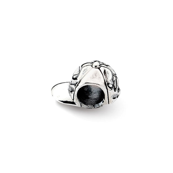 Sterling Silver Reflections Baseball Cap Bead