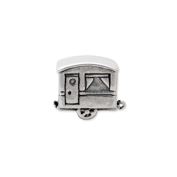 Sterling Silver Reflections Camper Trailer Bead