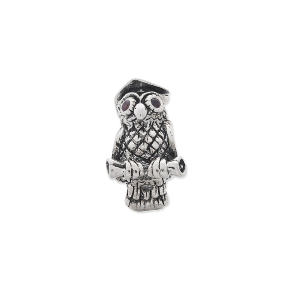 Sterling Silver Reflections Wise Owl Bead