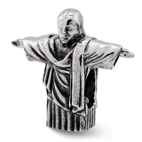 Sterling Silver Reflections Christ the Redeemer Bead