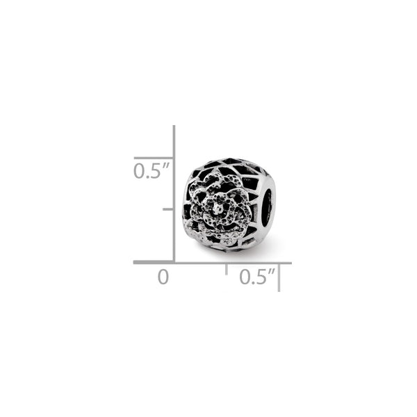 Sterling Silver Reflections Flower Bali Bead