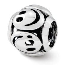 Load image into Gallery viewer, Sterling Silver Reflections Smiley Faces Bead