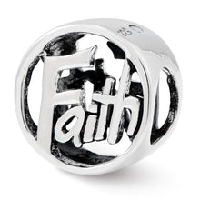 Load image into Gallery viewer, Sterling Silver Reflections Faith Bead