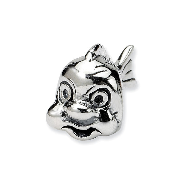 Sterling Silver Reflections Fish Bead
