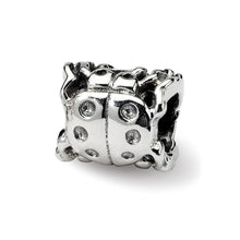 Load image into Gallery viewer, Sterling Silver Reflections Ladybug Bead