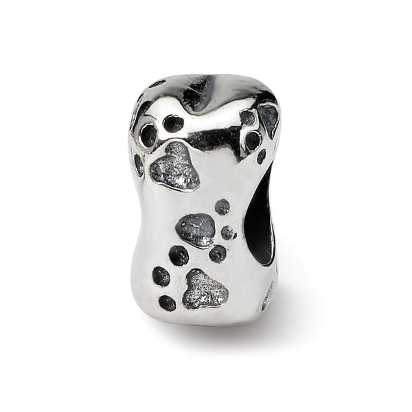 Sterling Silver Reflections Dog Bone Bead
