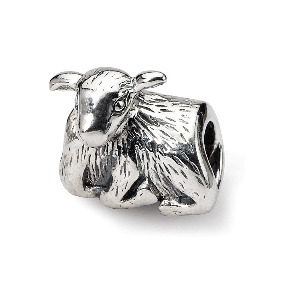 Sterling Silver Reflections Lamb Bead