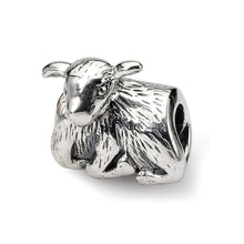 Load image into Gallery viewer, Sterling Silver Reflections Lamb Bead