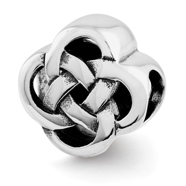 Sterling Silver Reflections Celtic Knot Bead