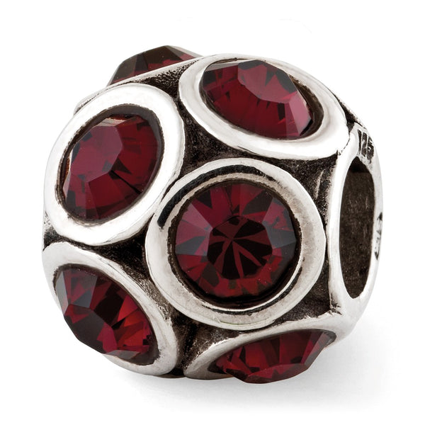 Sterling Silver Reflections June Swarovski Crystal Bead