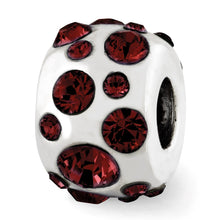 Load image into Gallery viewer, Sterling Silver Reflections January Swarovski Crystal Bead