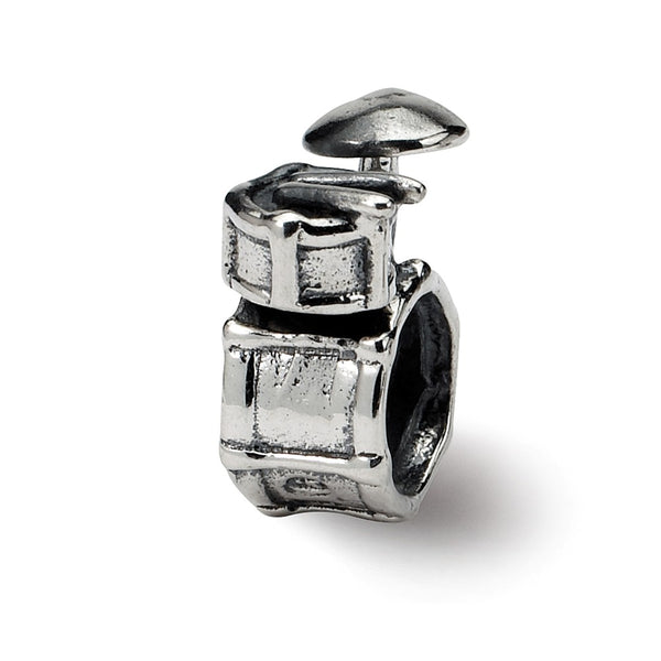 Sterling Silver Reflections Drum Set Bead