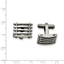 Load image into Gallery viewer, Stainless Steel Cuff Links