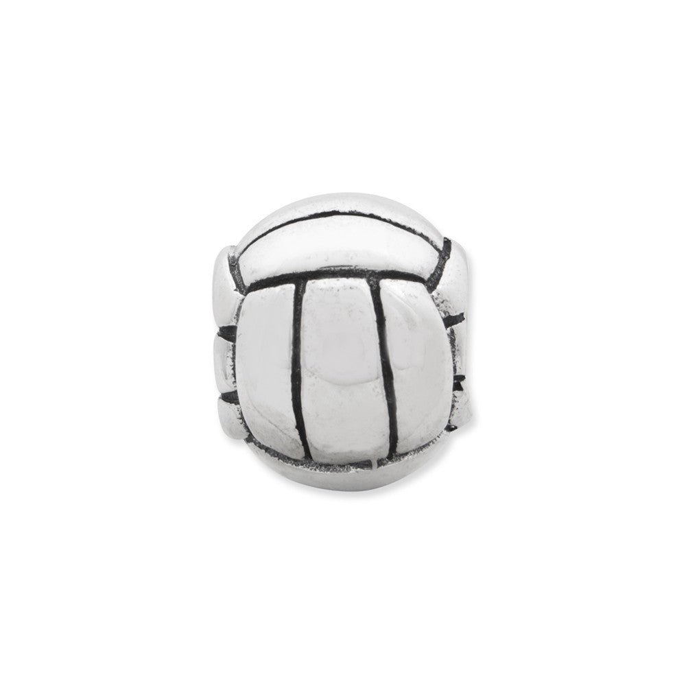 Sterling Silver Reflections Volleyball Bead