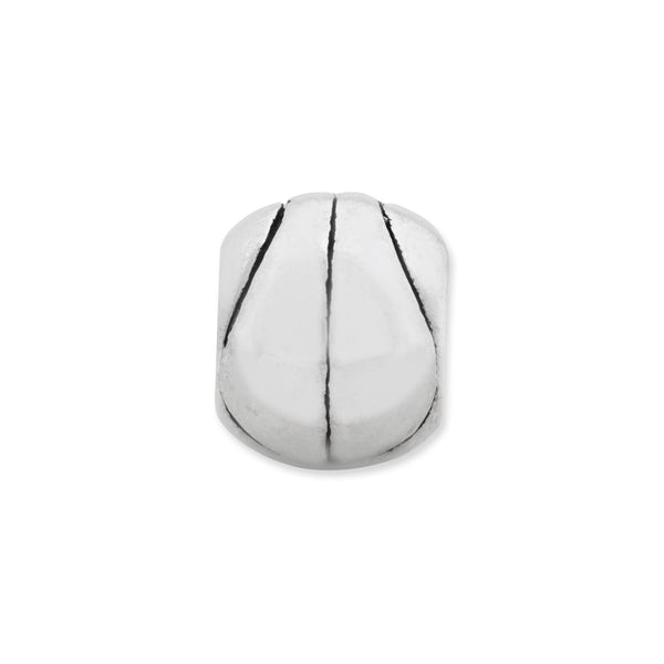 Sterling Silver Reflections Basketball Bead