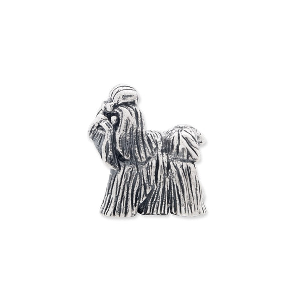 Sterling Silver Reflections Shih Tzu Bead