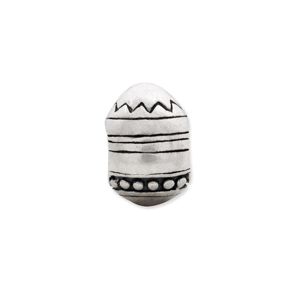 Sterling Silver Reflections Easter Egg Bead
