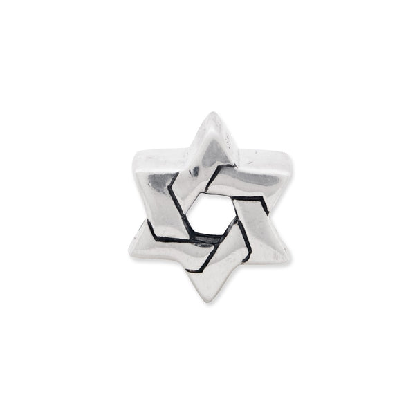 Sterling Silver Reflections Star of David Bead