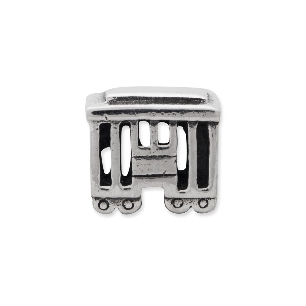 Sterling Silver Reflections Streetcar Bead