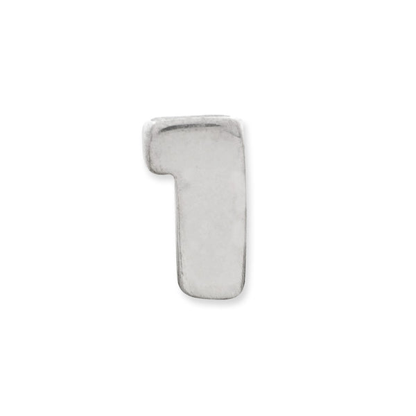 Sterling Silver Reflections Kids Number 1 Bead