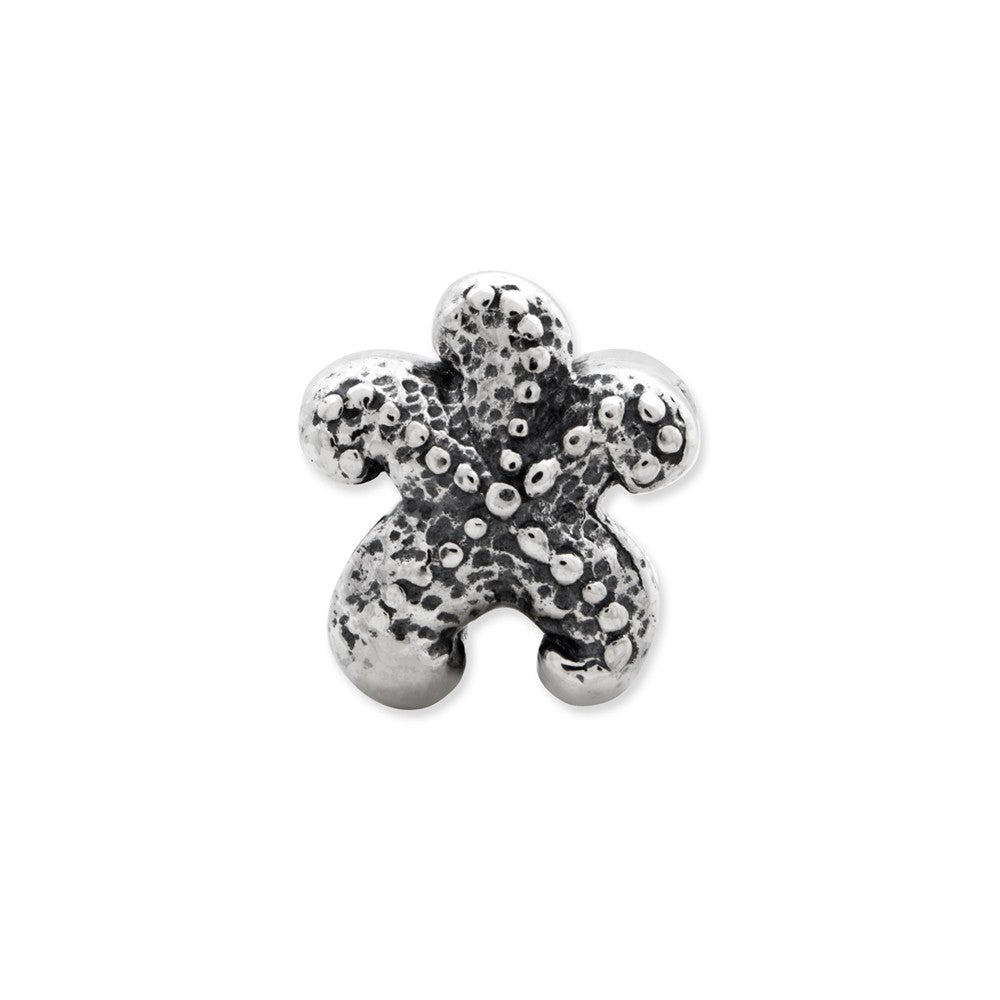 Sterling Silver Reflections Starfish Bead