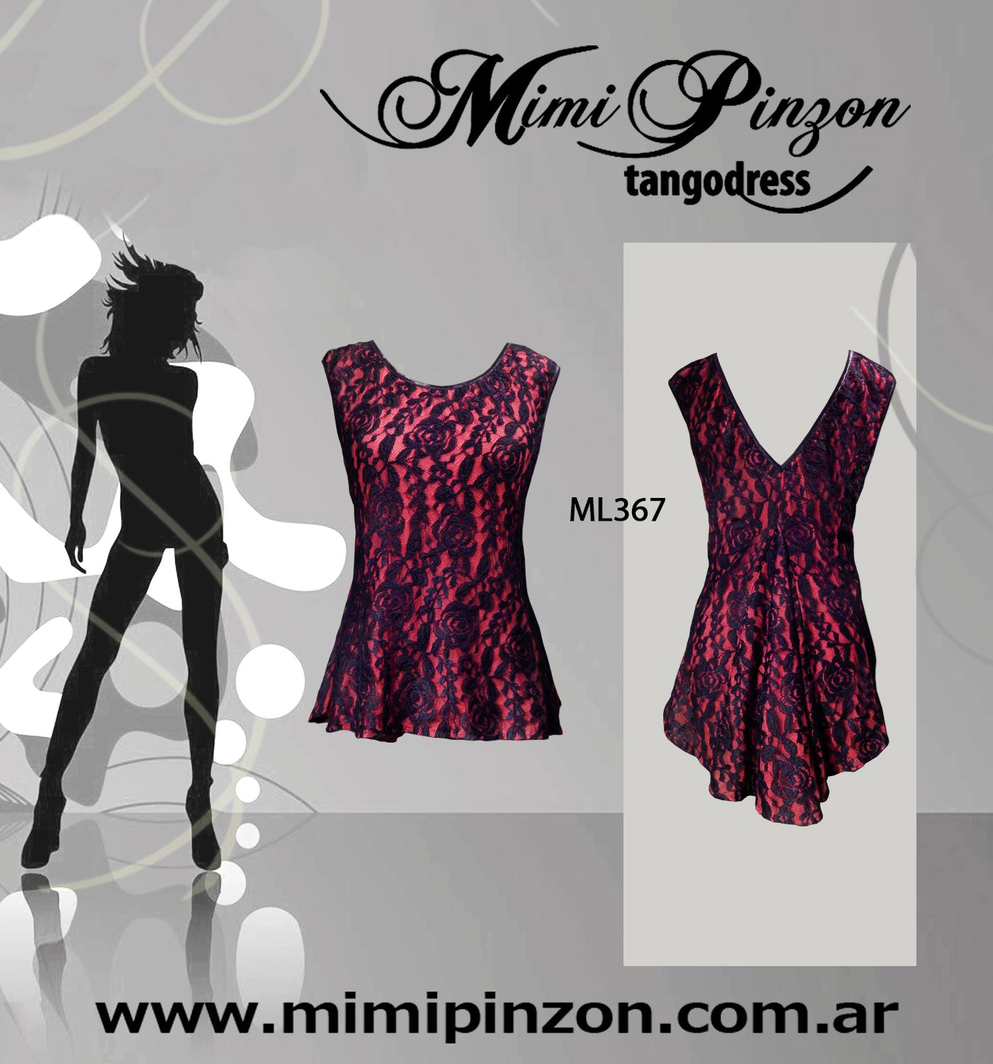 Tango Salon top ML367