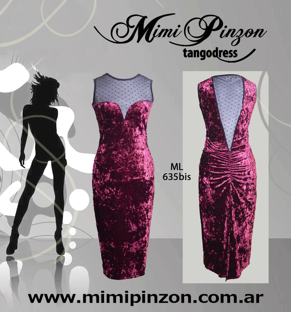 Tango Dress Mimi Pinzon ML635BIS Bordo