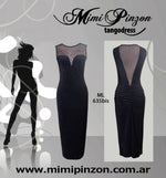 Tango Dress Mimi Pinzon ML635BIS Lame