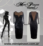 Salon Tango Dress ML637 NegroTP