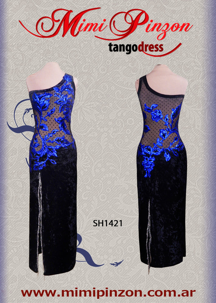 Tango Stage Dress SH1421